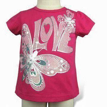 d25cfaed Girls Printed T-Shirt at Rs 95 /piece | Javagar Nagar | Tiruppur ...