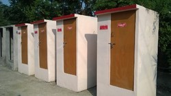 Pre-Cast Concrete Toilet