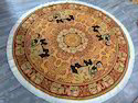 Round 100% Cotton Elephant Indian Printed Tapestries