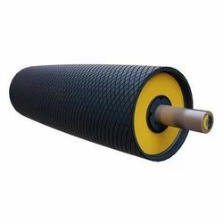 Mild Steel Conveyor Drum Pulley, Capacity: 0.5 ton