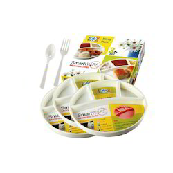 Micra Plates 3pc Set with Spoon and Fork