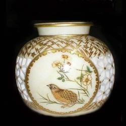 Handicraft Gold Marble Pots