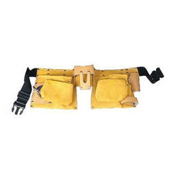 Double Pocket Leather Tool Pouch