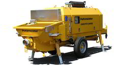 Concrete Pumps, Model Name/Number: 1407 D