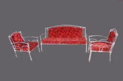 Wondrous Metal Sofa Set Ibusinesslaw Wood Chair Design Ideas Ibusinesslaworg
