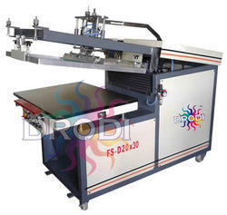 Clamshell Flat Screen Printing Machine