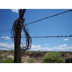 Steel Barbed Fencing Wire