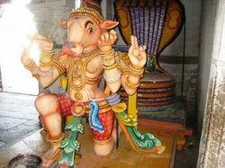 Vahanam Wood Statue