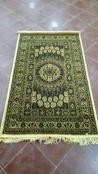 Multicolor Cotton Silk Carpet