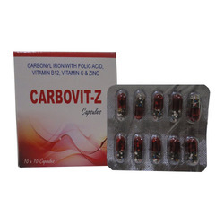 Carbonyl Iron, Folic Acid,Vitamin B 12 , Vitamin C & Zinc