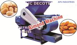 Almond Decoter Machine