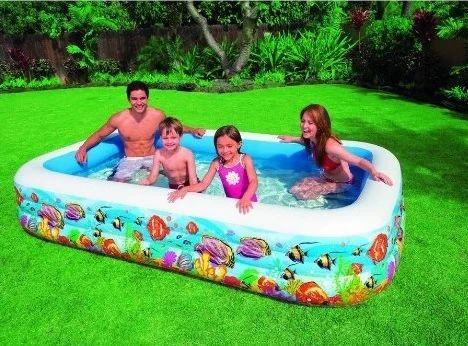 Intex Swim Center Tropical Reef Family Pool 58485