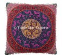 Indian Cotton Floral Euro Sham Pillow Sham Cover