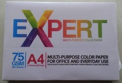 Pink And Yellow Expert Multipurpose Color Paper 75 Gsm, Printing Paper