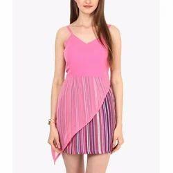 Girl Polyster Fancy One Piece Dress