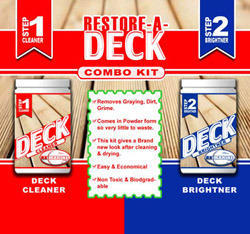 Deck Cleaner and Brightener
