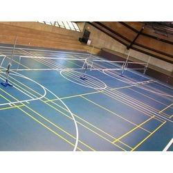 Multipurpose Court Synthetic Flooring