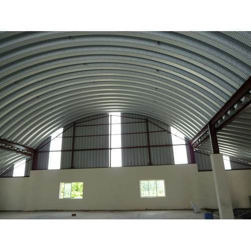 Frp Curved Roofing System Rs 125 Square Feet Steelcraft