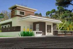 Ground Floor Design 3D Rendering Services - Elevation
