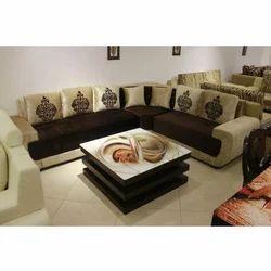Decorative L Shape Sofa, L shape couch - Decorative Crafts, New Delhi | ID:  13974938373