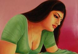 Hot Woman Painting