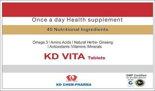Women Kd Vita Tablets 10 Tablet Strip