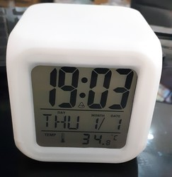 Automatic Color Changing Light Watch