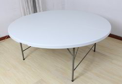 6ft Round Plastic Folding Table