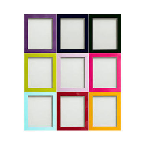 Colored Photo Frame, Colored Picture Frame, Rangeen Photo Frame ...
