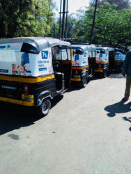 Auto Rickshaws Advertising Service