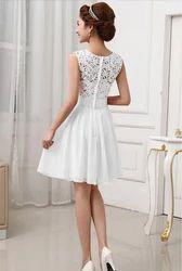 Eve Hanger Hot White Skater Dress