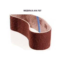 Abrasive Web Reinforced With Cloth