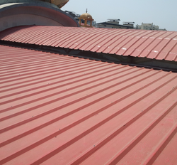 FAISAL SHINE Curvature Galvanized Sheet