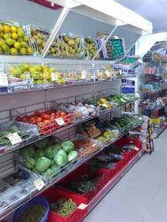 Fruit Display Rack