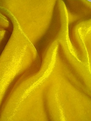 3bd31d6d33f4 Yellow Velvet Fabric at Rs 100  meter