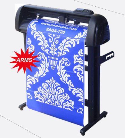 Sticker Cutting Machine Saga I Radium Cutting Machine