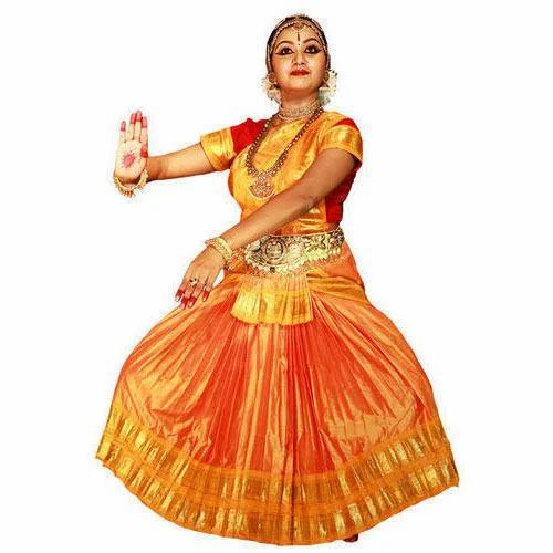 27449e905e8f Bharatanatyam Dance Costume at Rs 2500  piece(s ...