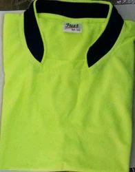 Men And Boys Nylon & Lycra Cotton Sport T Shirts