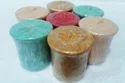 Multicolor Marvel Living Votive Wax Candle/ Mashroom Shaped Pillar, Packaging Type: Box
