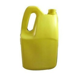Yellow Engine Oil Cans