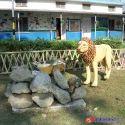 Fiberglass Lion Sculpture, For Park