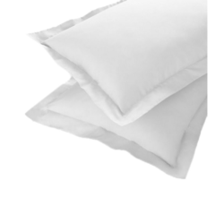 Plain White Pillow Cover