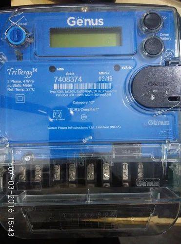 Genus 3 Phase Meter Multi Function Meter मल्टिफंक्शन मीटर