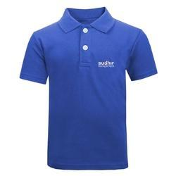 Blue/White/Black/Green/Red Promotional Polo T-Shirts