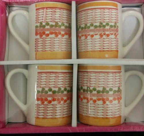 Ceramic Mini Milk Mug for Gifting, Capacity: 250ml