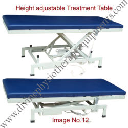Treatment Table - Height Adjustable