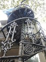 Circular, Spiral Cast Iron Spiral Staircase For Bungalow, 1.25mtr