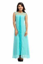 Cottinfab Women's Long Dress