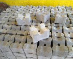 Cement Rectangular Concrete Cover Blocks, Packaging Type: Grey
