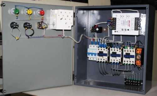 motor control panel Model 112, simplex - description single-phase, simplex motor contactor and control panel the model 112 control panel provides a reliable means of controlling one 120, 208, or 240 vac single-phase pump in tanks, pump basins, irrigation systems and lifting stations.